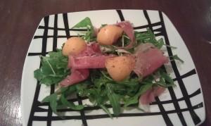 Parma Ham, Melon & Rockets